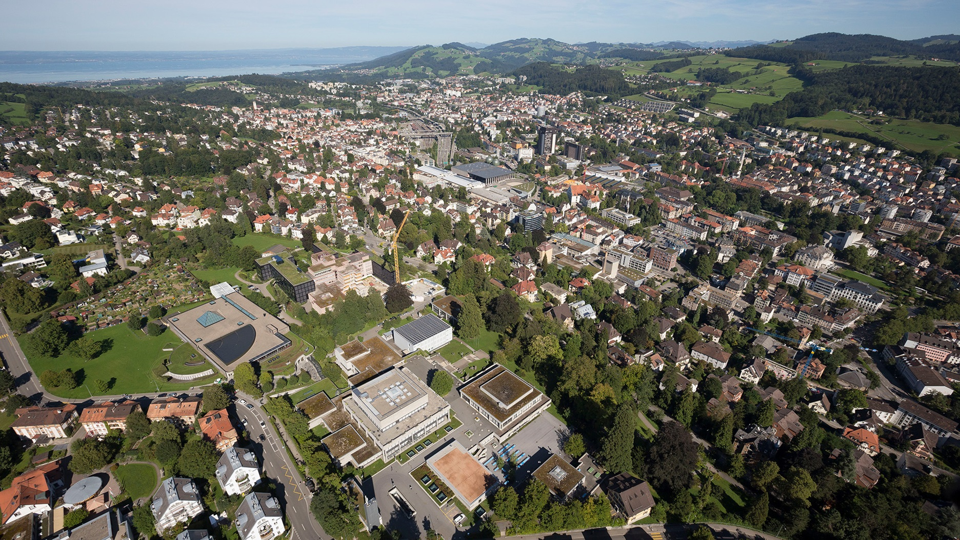 Luftaufnahme St.Gallen