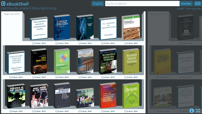 screenshot ebookshelf